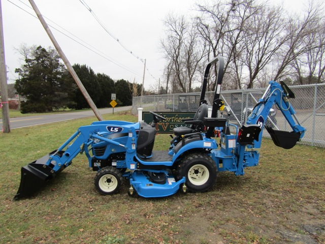 LS Tractor MT125 Tractor / Loader / Backhoe / Mid-Mount Mower