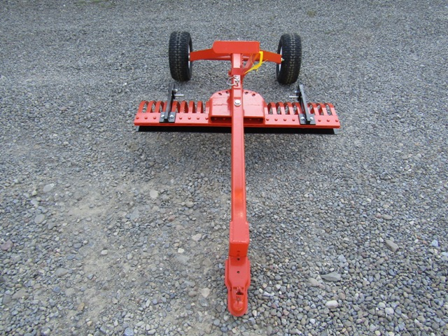 York Stone Rake TA2 4 Foot Ball Hitch